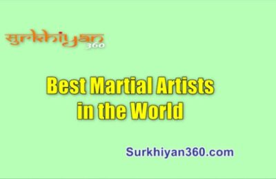 Best Martial Artists