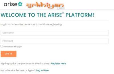Arise Portal